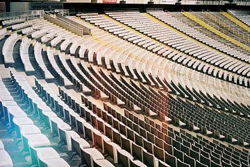 Vintage Stadion II van Wouter van der Krol