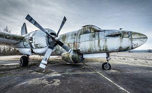 Oud vliegtuig van  Marine transport