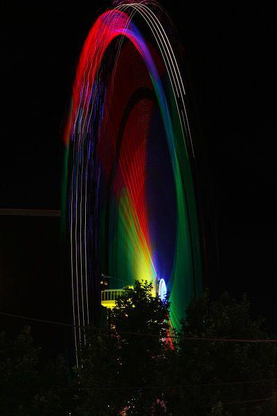 The Colorful Wheel van Cornelis (Cees) Cornelissen