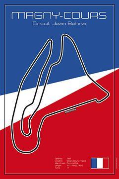 Racetrack Magny Cours van Theodor Decker