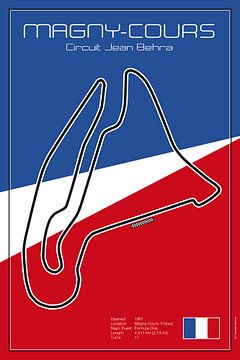 Racetrack Magny Cours von Theodor Decker