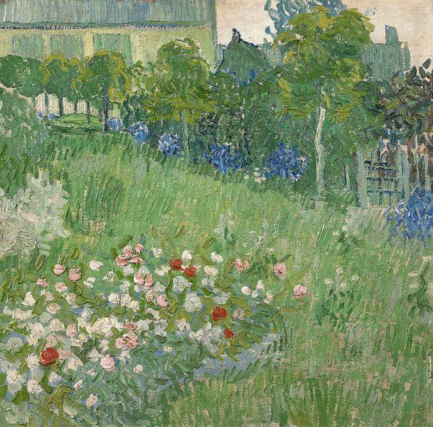 Vincent van Gogh, De tuin van Daubigny van 1000 Schilderijen