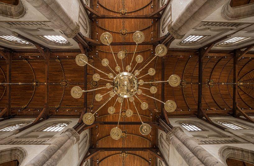 Het plafond van de Laurenskerk in Rotterdam van MS Fotografie | Marc van der Stelt