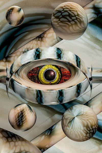 The cosmic caretakers eye van Holger Debek
