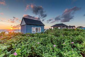 Sonnenuntergang über Aerö