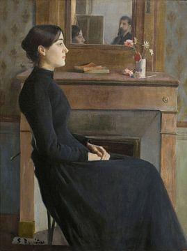 Santiago Rusiñol - weibliche Figur
