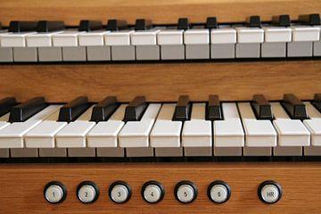 Orgelklavier van