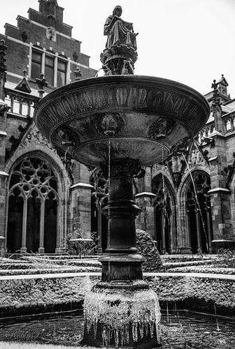 Kloostertuin,Utrecht. van