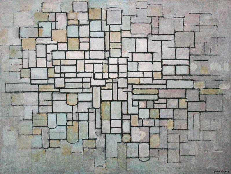 Piet Mondriaan. No. 11 van 1000 Schilderijen