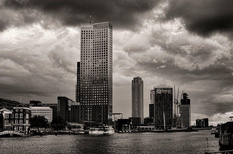 Koningshaven in Rotterdam van Vincent van Kooten