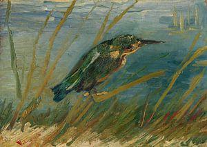 Vincent van Gogh, IJsvogel aan de waterkant van