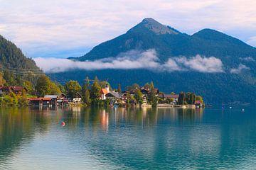 Walchensee in den Bayerischen Alpen von Ines Porada