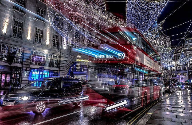 Regent Street Londen van Rene Ladenius