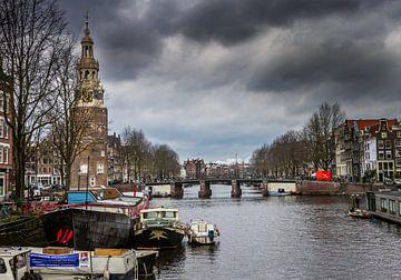 Grachten in Amsterdam van Hamperium Photography