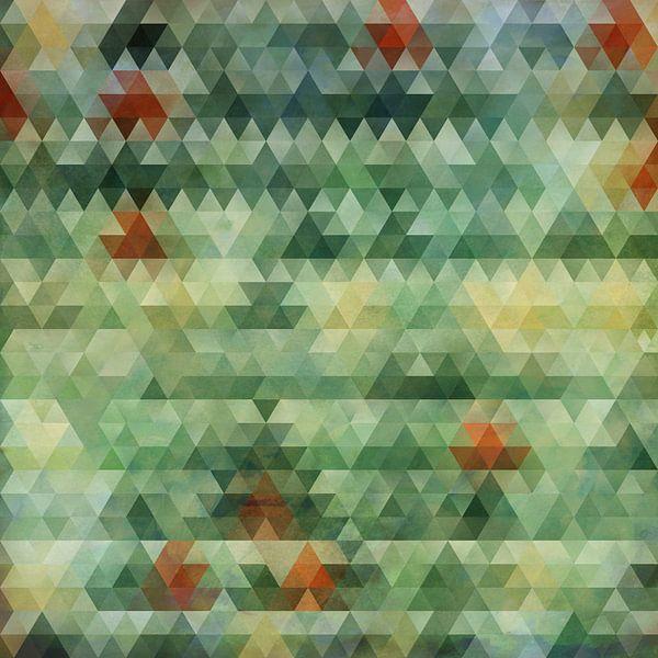 Composition abstraite 603 van Angel Estevez