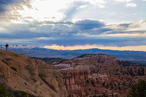 Zonsopgang in Bryce Canyon van Ilse Schoneveld