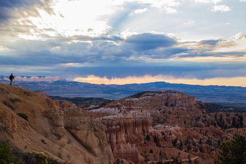 Zonsopgang in Bryce Canyon van