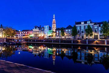 Blauwe Uurtje aan de Haven van Breda van Martijn Mureau