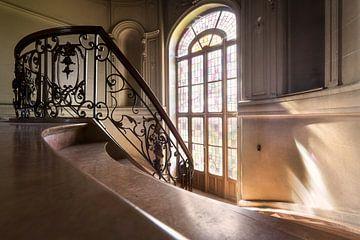 Escalier abandonné à Castle. sur
