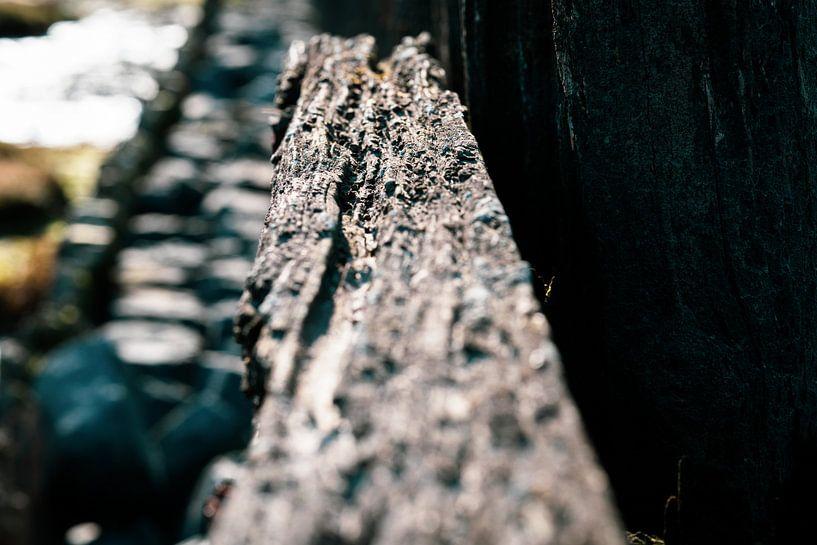 Verweerde oude zeewering van Fotografiecor .nl