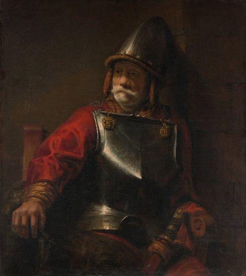 Man in Armor (Mars?), De stijl van Rembrandt van Rembrandt van Rijn