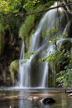Wasserfall Plitvice-Seen von Jeroen de Weerd