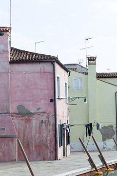 Burano - Venetië van heidi borgart