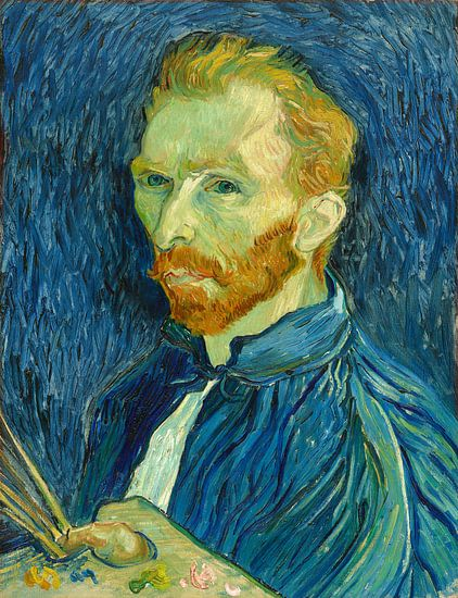 Selbstbildnis, Vincent van Gogh von Liszt Collection
