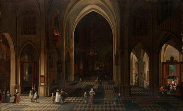 Ein Kirchenraum bei Kerzenlicht, Pieter Neefs (I)