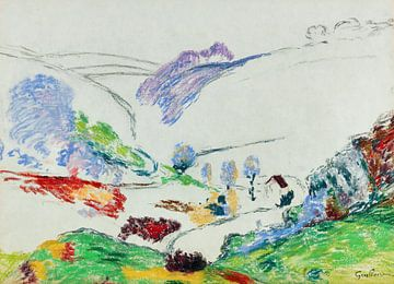 Landschaft der Creuse, JEAN-BAPTISTE ARMAND GUILLAUMIN, um 1915
