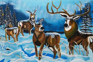 Winterwunderland von Freds Atelier