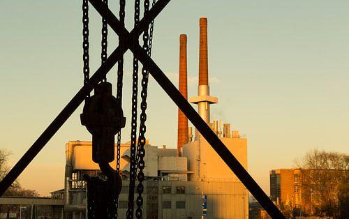 Industrieel erfgoed, oude Philips energiefabriek.