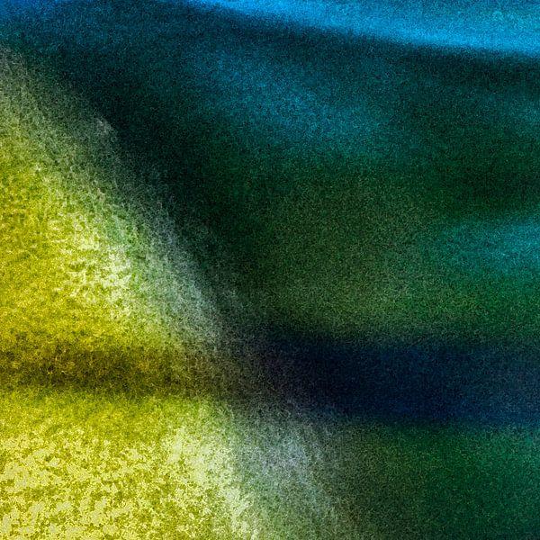 Abstract landschap 1 van Hanneke Luit