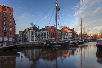 Klipper JADE at Winterwelvaart Groningen