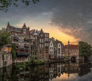 Rotterdam Delfshaven von Herman van den Berge