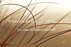 "Inspiration ""Forgive yourself"" van"