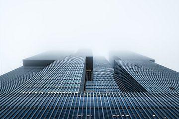 Nebel in Rotterdam von Martijn Kort