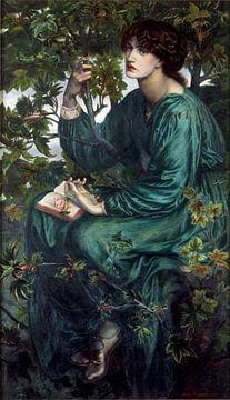 Dante Gabriel Rossetti. The Day Dream