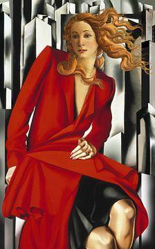 Die im Art Deco II wiedergeborene Venus