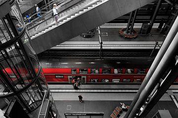 Berlin Hauptbahnhof von Ruud de Soet