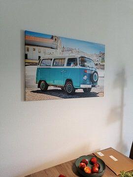 Kundenfoto: VW-Bus an der Algarve von Victor van Dijk