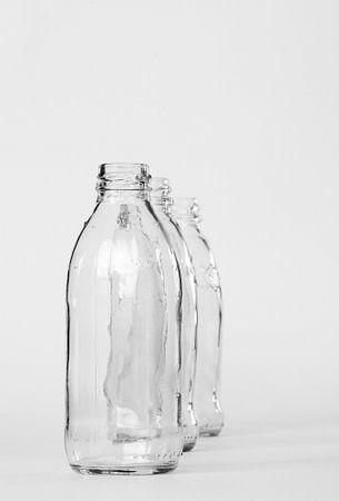 Stilleven flessen macrofotografie van Watze D. de Haan
