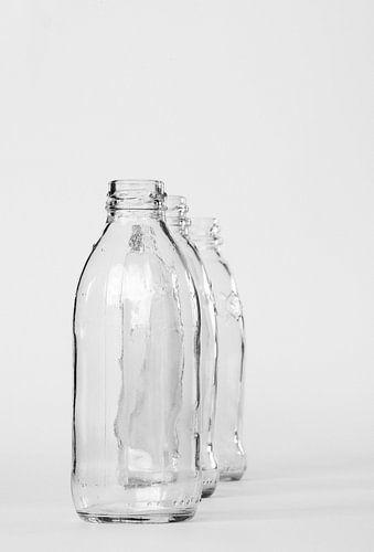 Stilleven flessen macrofotografie von Watze D. de Haan