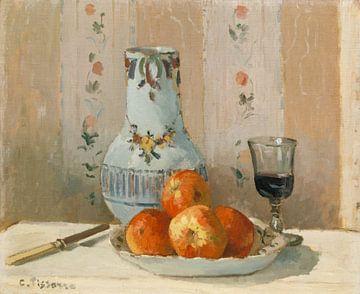 Nature morte aux pommes et Pichet, Camille Pissarro sur