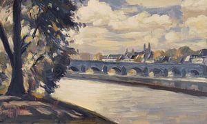 Maastricht, von Wyck aus gesehen
