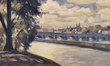 Maastricht, von Wyck aus gesehen von Nop Briex