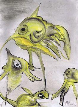 Vissen van Marjanne van der Linden