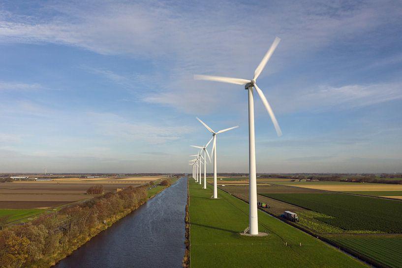 De moderne windmolens in Nederland van Menno Schaefer