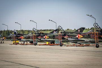 SU-22 Fitters op platform van Jasper Scheffers