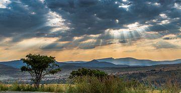 Afrikanischer Himmel von Peter Leenen